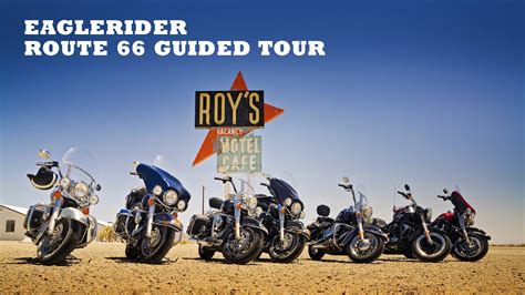 EagleRider's Route 66 Guided Tour - YouTube