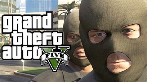 GTA 5 - How to ROB a BANK (Funny Moments Gameplay In GTA V