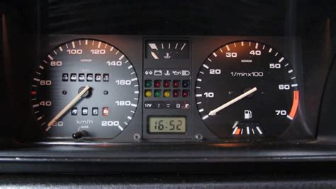 How to make a instrument led panel Vw Golf 2 / Jetta 2 LED