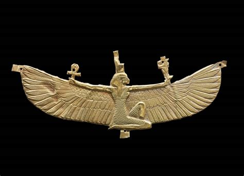 Winged Isis pectoral   Museum of Fine Arts, Boston