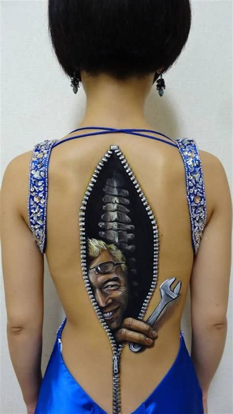 3D Body Painting