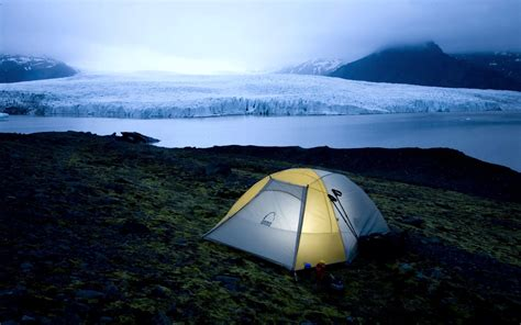 Camping in Iceland National Park Wallpapers | HD
