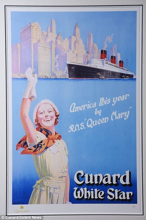 Cunard releases vintage posters showcasing days of