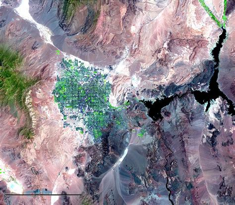 Satellite Imagery and Change Over Time   National