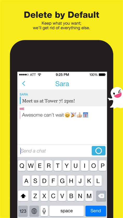 Snapchat Update With Video and Text Messaging Now