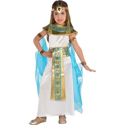 Little Girls Shimmer Cleopatra Costume (con imágenes